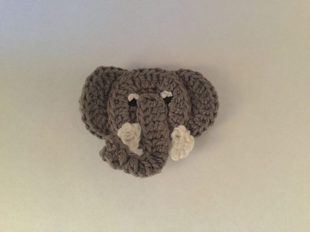 Bear Head Applique Crochet Pattern Free – Dibujos Para Colorear