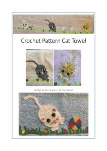 Crochet Cat Towel eBook Cover Page
