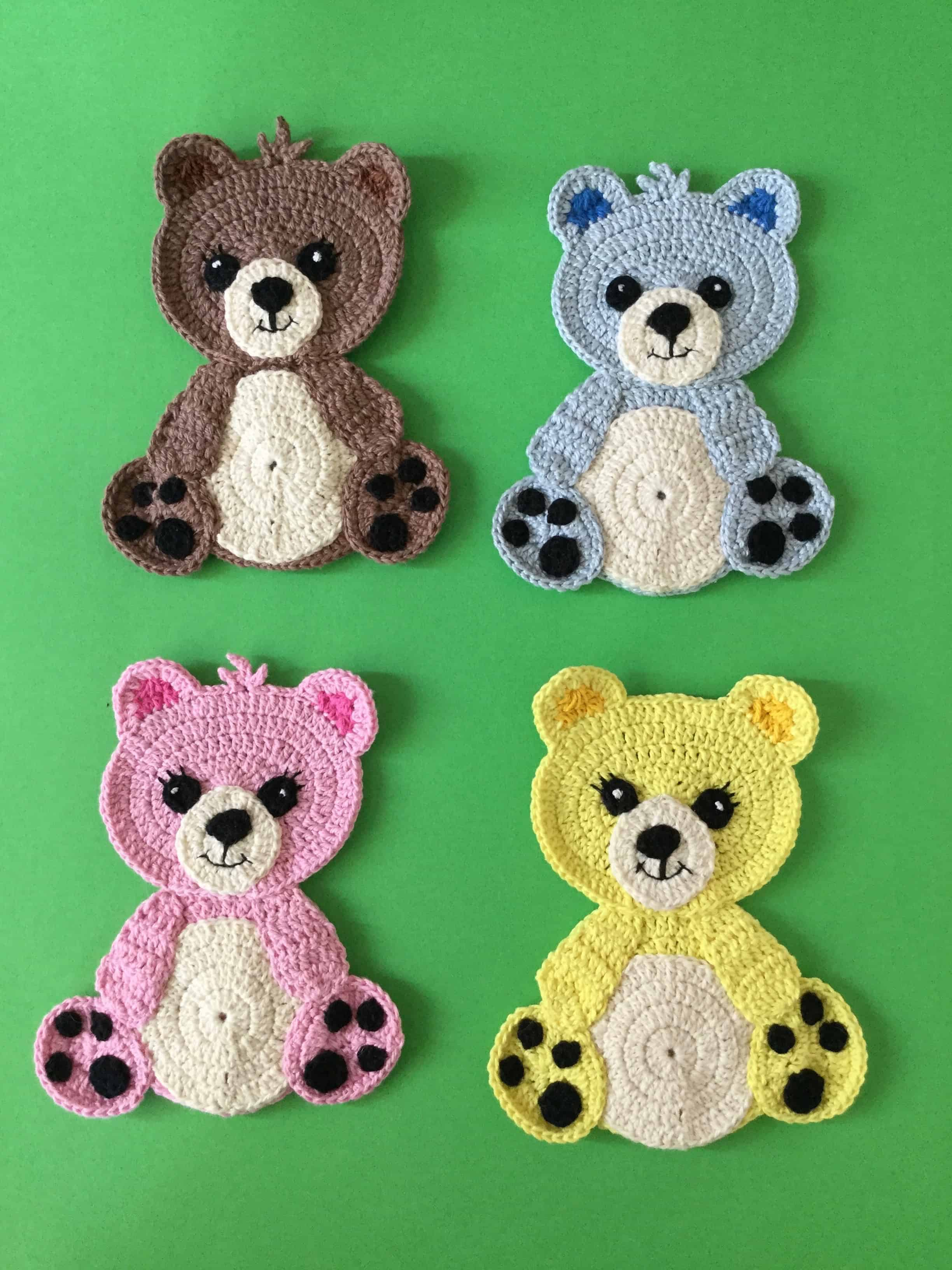 Free Crochet Applique Patterns Custom Design Ideas