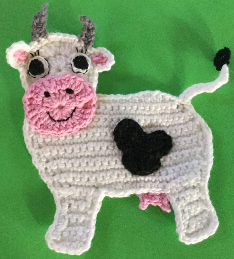 Crochet Cow Pattern • Kerri's CrochetKerri's Crochet