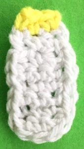 Crochet baby teddy bear bottle top
